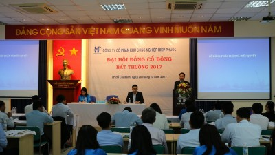 Hiep Phuoc Industrial Park Joint Stock Company successfully organized...