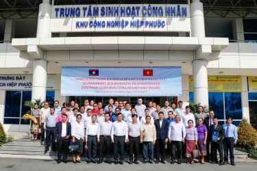 Cuban Friendship Institute visits Hiep Phuoc Industrial Park