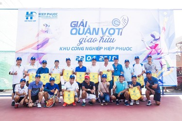 Tennis Tournament - Hiep Phuoc Industrial Park 2018