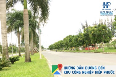 Directions from Ho Chi Minh City Center to Hiep Phuoc Industrial Park