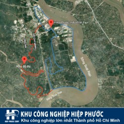 The contiguous face of Hiep Phuoc Industrial Park