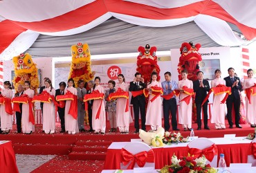The 5th anniversary celebration of Vie - Pan Techno Park in Hiep Phuoc Industrial Park