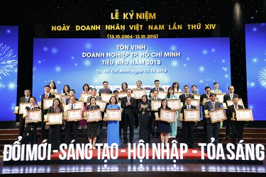 Hiep Phuoc Industrial Park Joint Stock Company is honored to be awarded the Typical Enterprise Award of Ho Chi Minh City