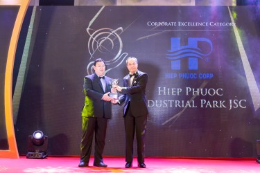 The first Vietnamese industrial real estate company to receive the Asia Pacific Entrepreneurship Award 2018