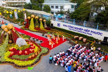Nha Be District summarizes the organization, taking care of The Lunar New Year 2019