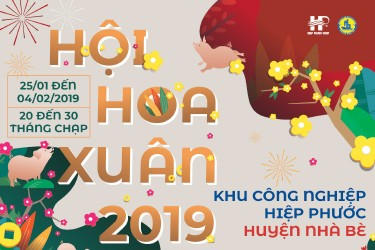 Hiep Phuoc Industrial Park Spring Flower Festival 2019
