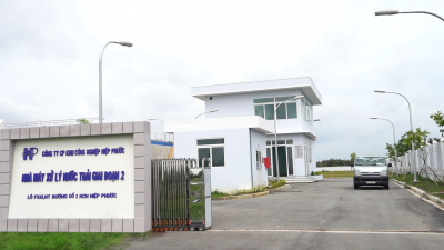 Waste Water Treatment Plant of Hiep Phuoc IP's Phase 2 has been officially operated
