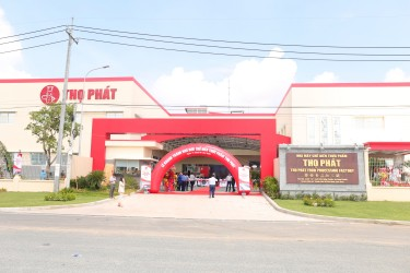 The Inauguration Ceremony of Tho Phat Food Processing Factory in Hiep Phuoc Industrial Park - Phase 2
