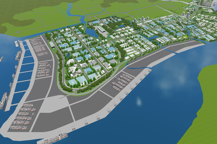 3D perspectives of Hiep Phuoc Industrial Park